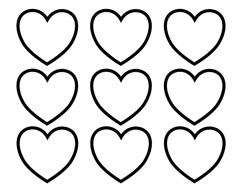 994x768 Free Heart Coloring Pages Line Drawings Online Free Heart Coloring