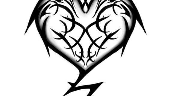 570x320 Cool Heart Drawings Cool Drawing Designs Of Hearts Clipart Best