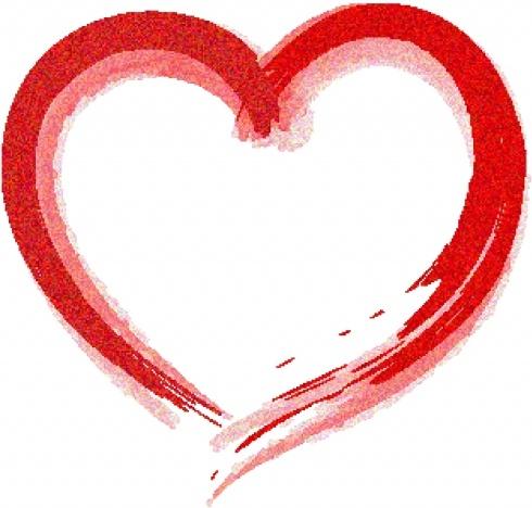 490x468 Heart Draw Free Vector In Adobe Illustrator Ai ( Ai