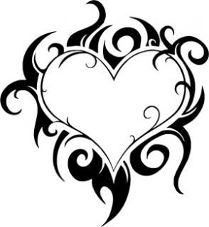 294x320 Heart With Flames 8 Pics Of Coloring Pages Of Hearts With Flames