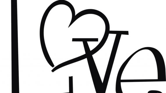 570x320 Love Heart Drawings