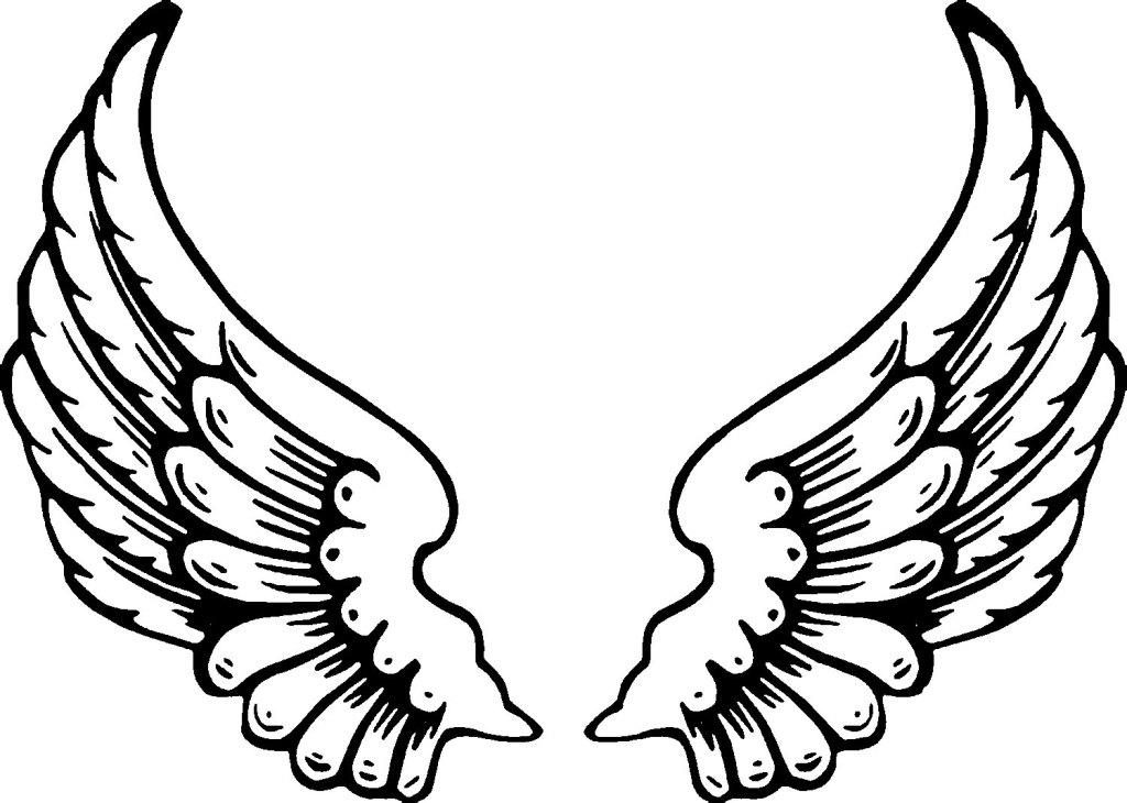 1024x730 Coloring Pages Of Wings Heart With Wings Coloring Pages Angel Wing