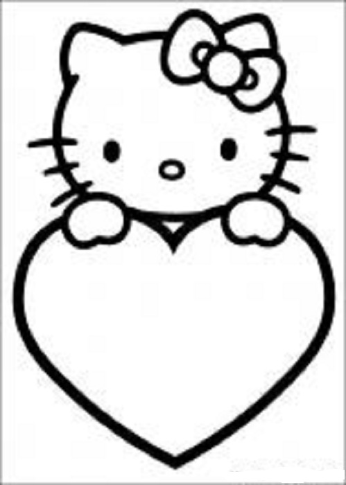 499x700 Heart Coloring Pages