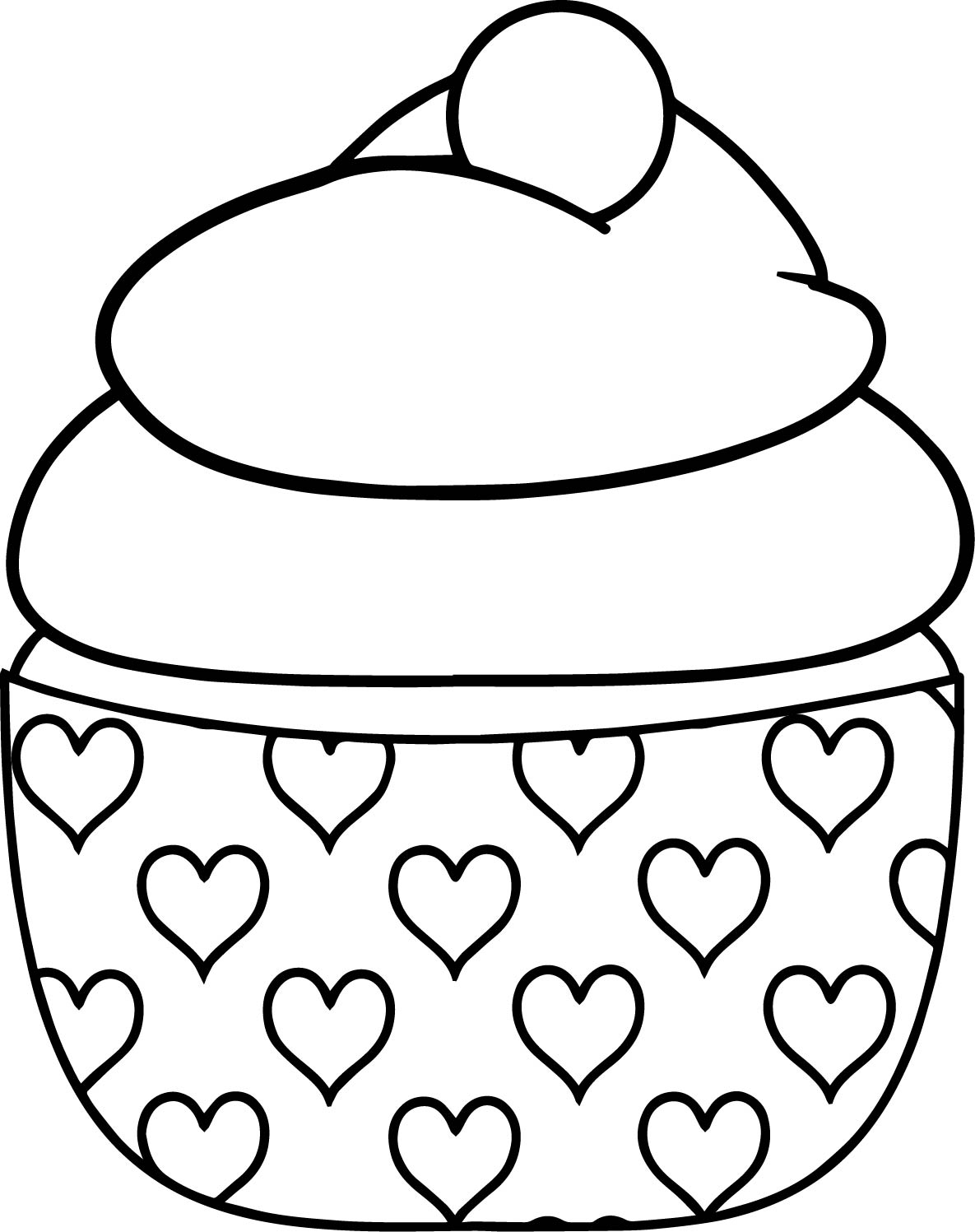 Hearts With Flames Coloring Pages | Free download best Hearts With ...