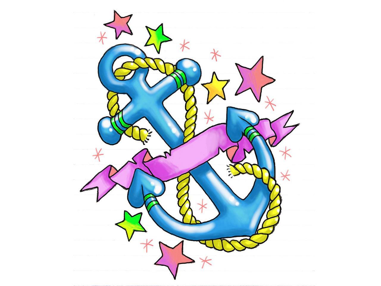 1280x960 Hearts And Stars Tattoo Designs