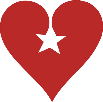 400x397 Hearts Stars Cliparts