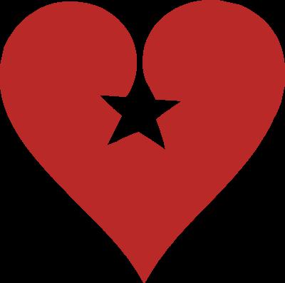 400x397 Hearts Stars Cliparts