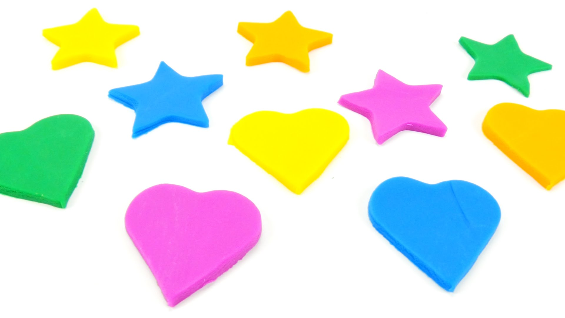 1920x1080 How To Make Play Doh Hearts Amp Stars W Plasticine! New Modeling