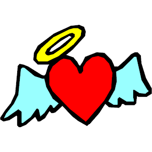300x300 Heart With Wings 1 Clipart, Cliparts Of Heart With Wings 1 Free