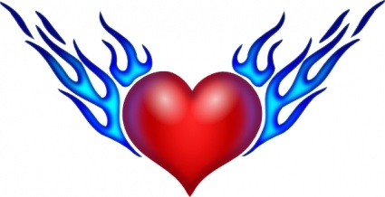 425x218 Hearts With Wings Pictures