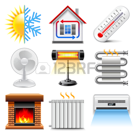 450x450 Hvac (Heating, Ventilating, And Air Conditioning) Icons. Heating