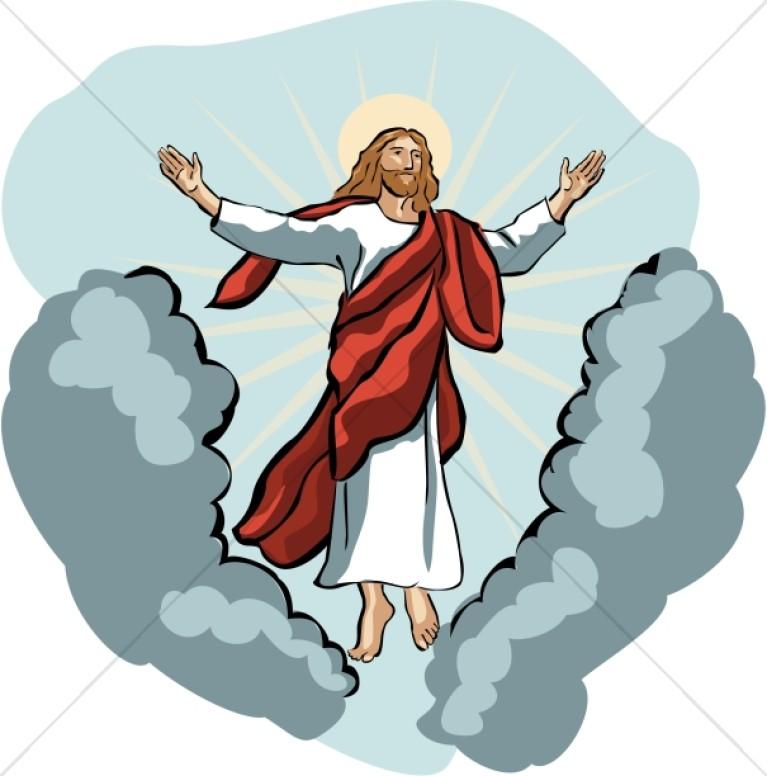 767x776 Heaven Clipart Christianity