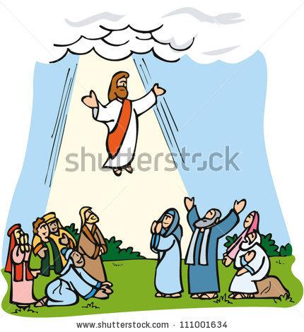 430x470 Jesus Ascending Clipart