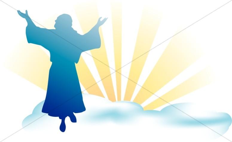 776x476 Jesus In Heaven Clip Art Cliparts