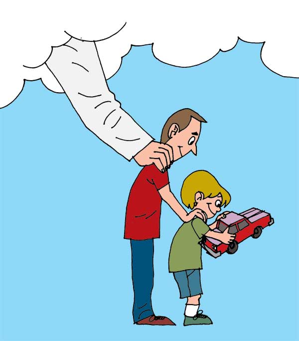 600x684 Heaven Clipart God The Father