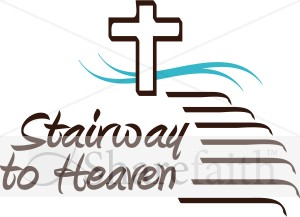 300x217 Stairway To Heaven Inspirational Word Art