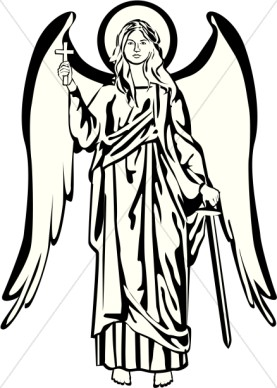 277x388 Clip Art Of Angels In Heaven Clipart
