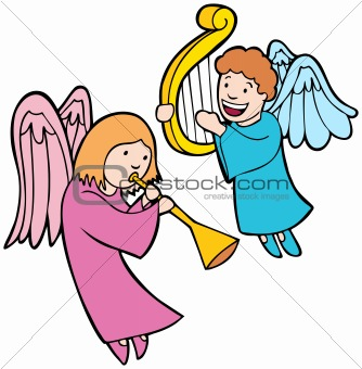 334x340 Clipart Angels In Heaven Collection