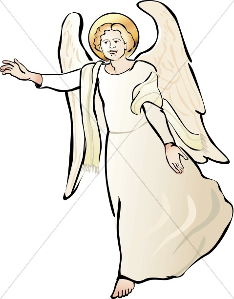479x612 Angel Clipart Heavenly Host