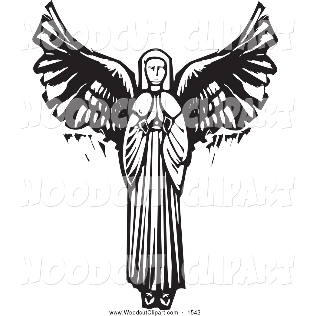 1024x1044 Black Angels Clipart