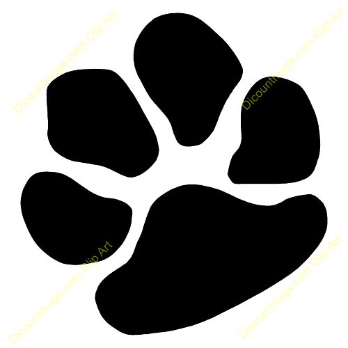 500x500 Bulldog Paw Clipart Photo