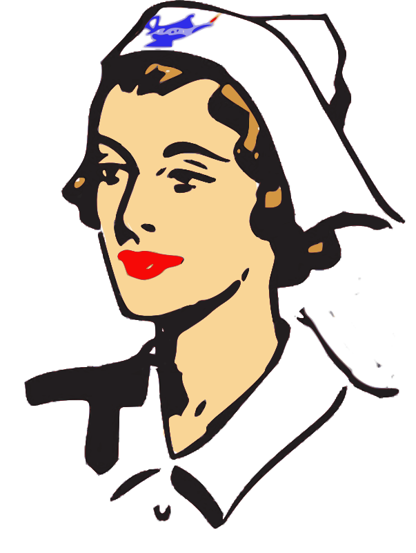 603x800 Clipart For A Nurse