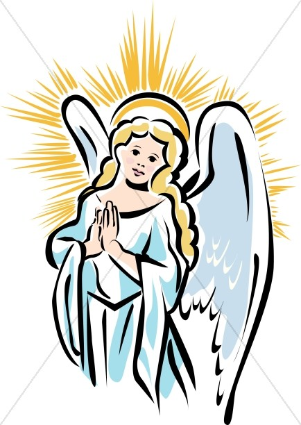434x612 Angels Singing In Heaven Clipart