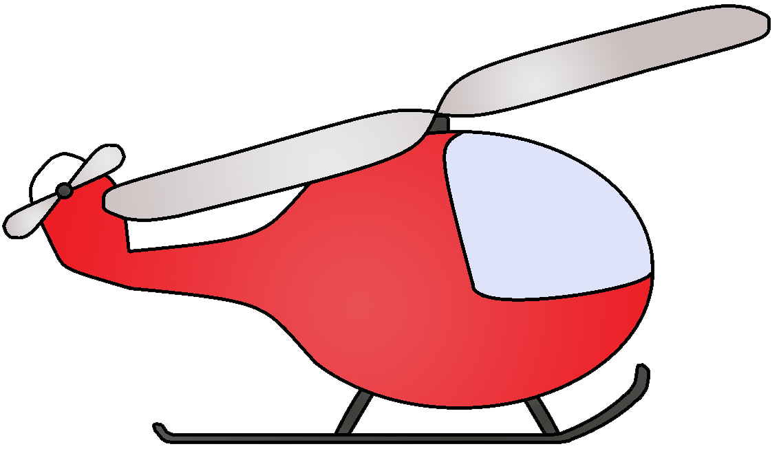 Helicopter Clipart Black And White | Free download best