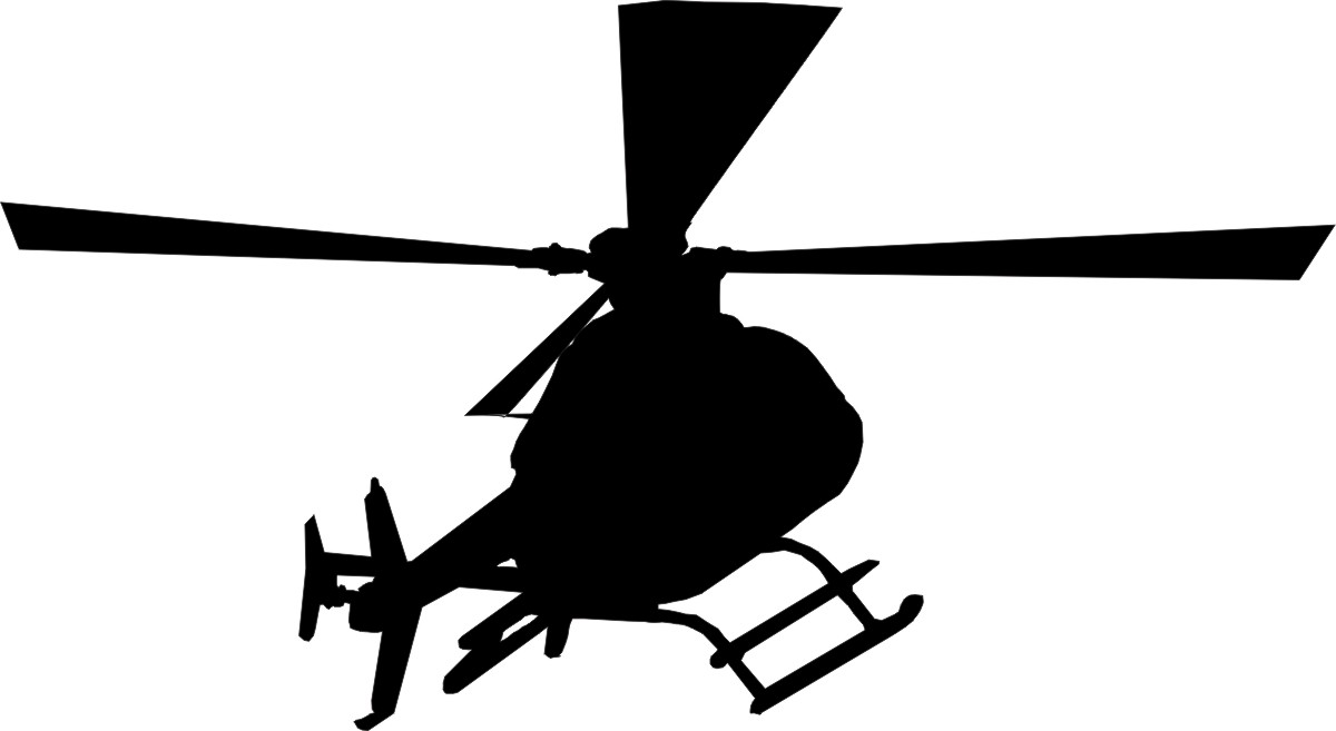 Helicopter Cliparts Black | Free download best Helicopter Cliparts ... for Helicopter Clipart Black And White  111bof