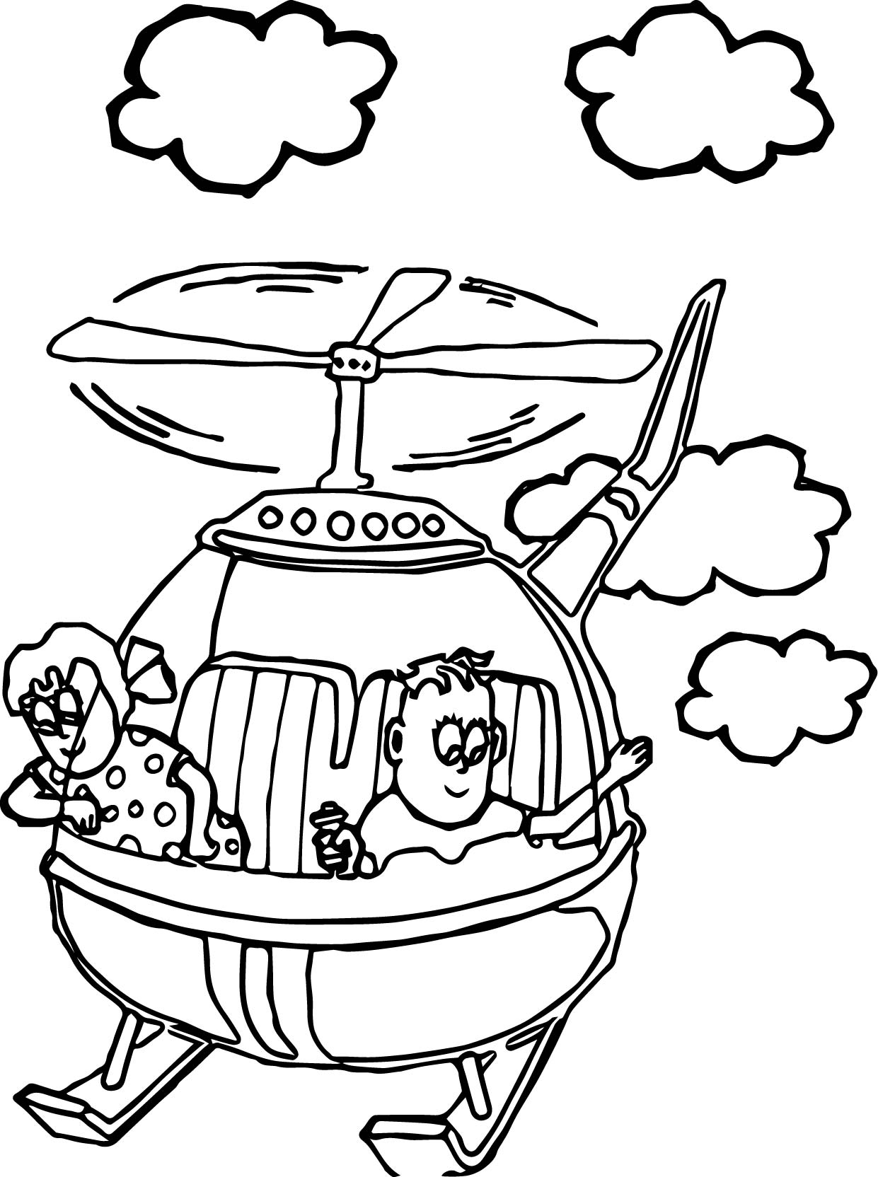Helicopter Coloring Pages | Free download best Helicopter Coloring ...