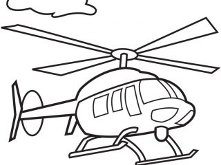 Helicopter Coloring Pages Eskayalitim
