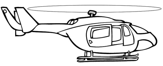 687x280 Coloring Pages Helicopter Coloring Pages Helicopter Coloring