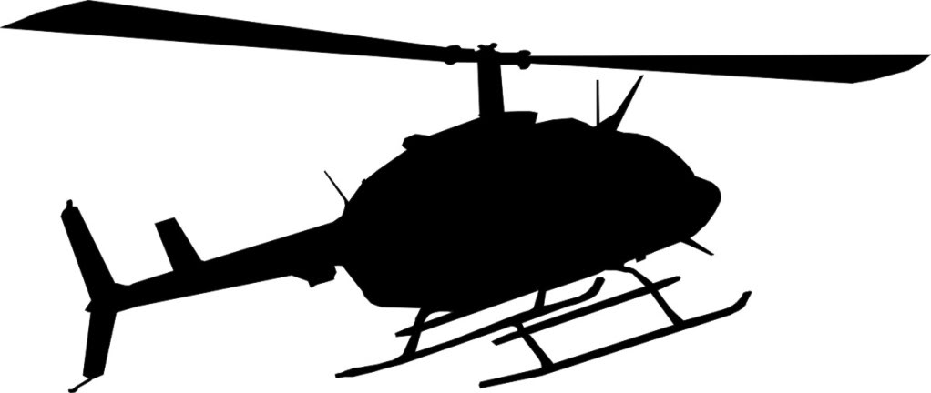 Helicopter Silhouette Free Download On Clipartmag