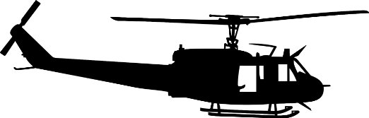 522x167 Huey Helicopter Silhouette Clipart Panda