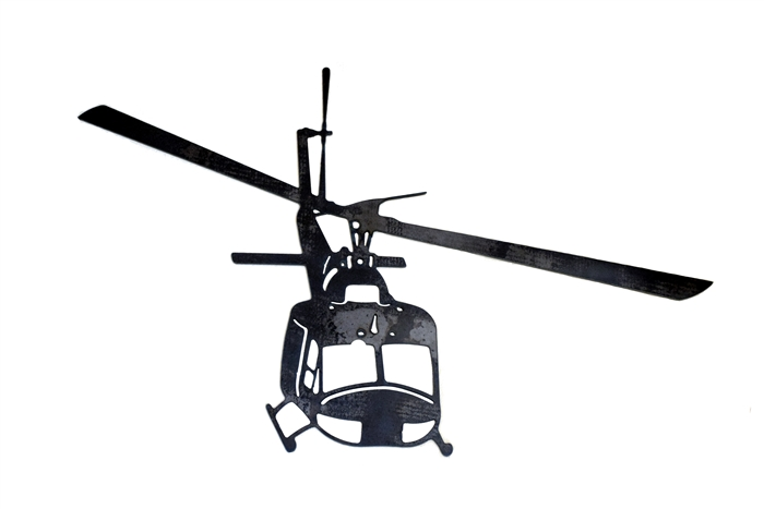 700x467 Huey Helicopter Silhouette