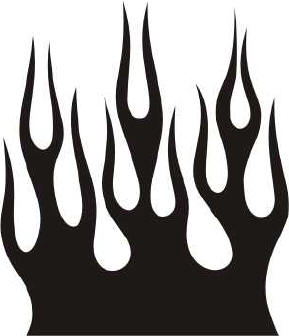 289x336 Hell Clipart Black And White