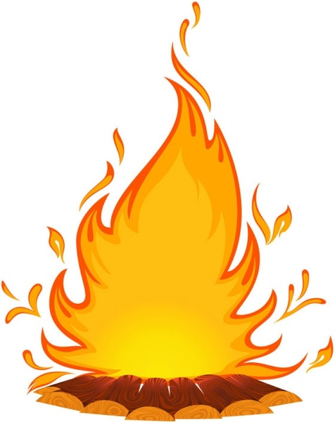 476x600 Hell Clipart Candle Flames