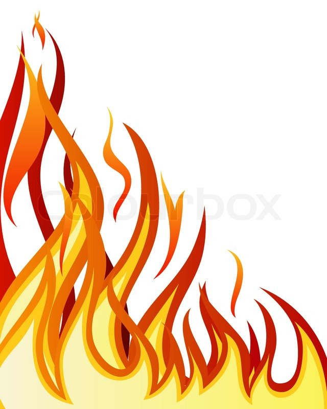 640x800 Hell Clipart Flames Background