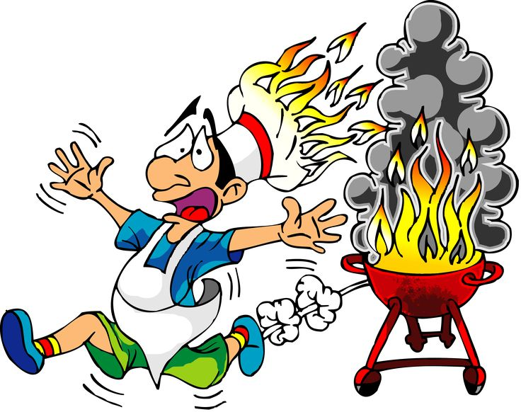 736x582 Hell Clipart Grill Fire