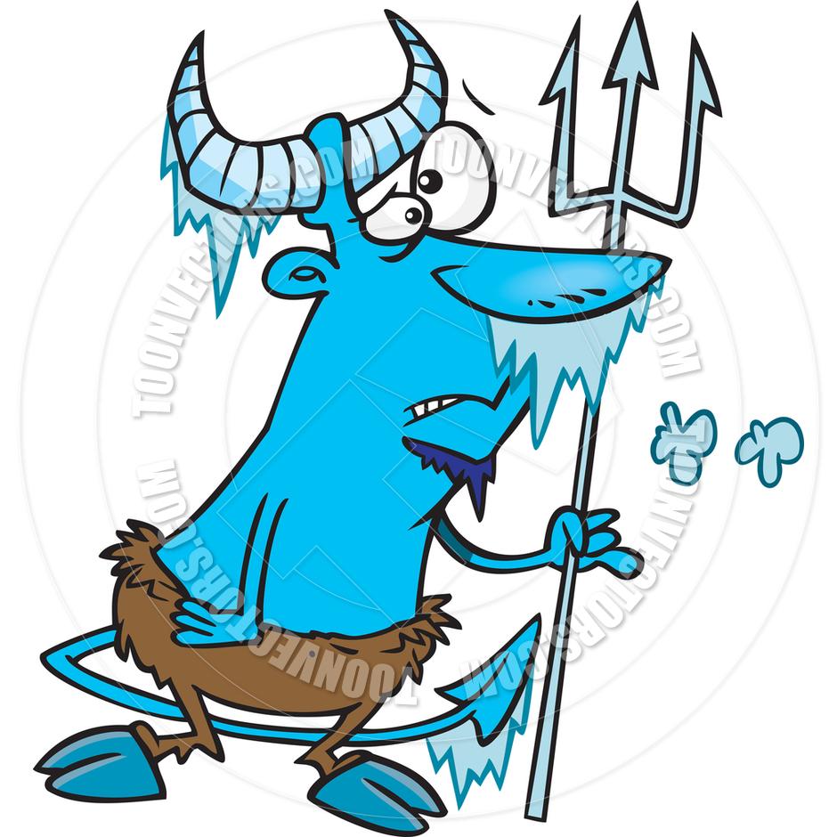 940x940 Cartoon Hell Freezes Over By Ron Leishman Toon Vectors Eps