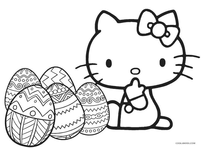 Hello Kitty Christmas Coloring Pages Free Print - Eskayalitim
