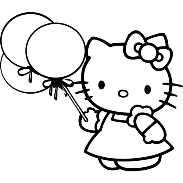 600x600 84 Best Hello Kitty Coloring Pages Images Patterns
