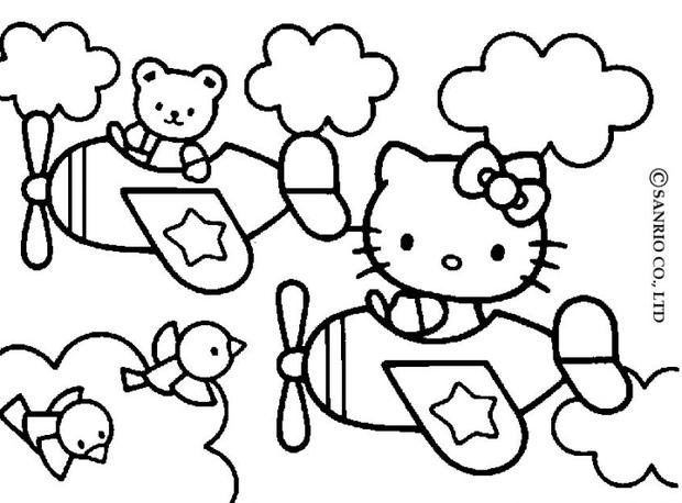 620x458 Interesting Kitty Coloring Page 76 On Print With