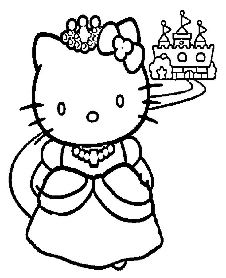 Hello Kitty Coloring Pages | Free download best Hello Kitty Coloring ...