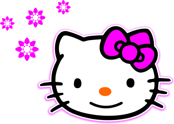600x430 Hello Kitty Vector Free Vector In Coreldraw Cdr ( Cdr ) Vector