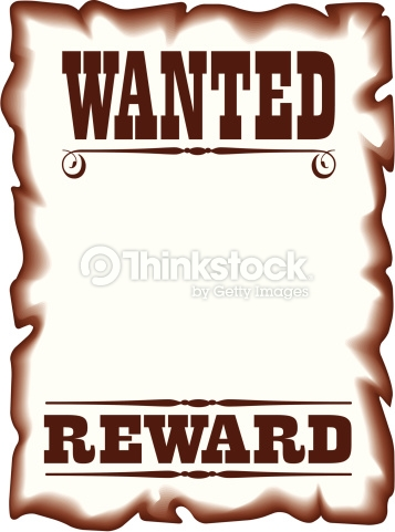 357x481 Wanted Clip Art