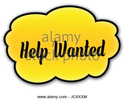 400x320 A Vintage Help Wanted Sign Stock Photo, Royalty Free Image