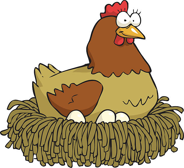 612x558 Hen And Egg Clipart Amp Hen And Egg Clip Art Images