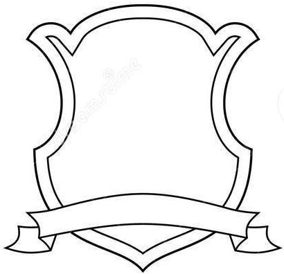 picture about Printable Coat of Arms named Heraldry blank