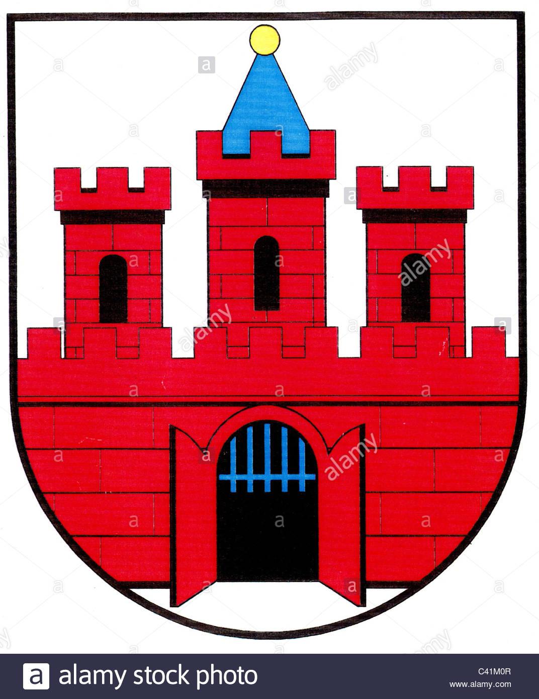 1072x1390 Coat Of Arms Emblems, Koethen, City Arms, Saxony Anhalt, Germany